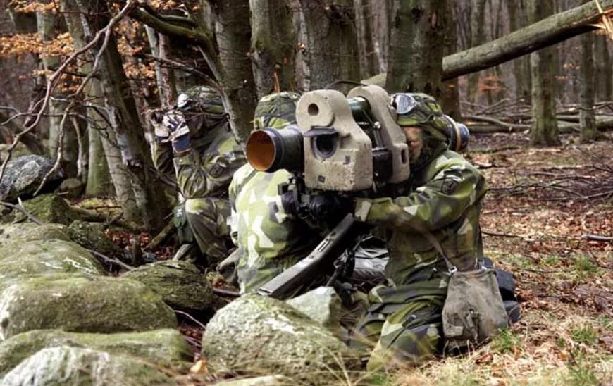 Швеция закупит импортные противотанковые ракетные комплексы