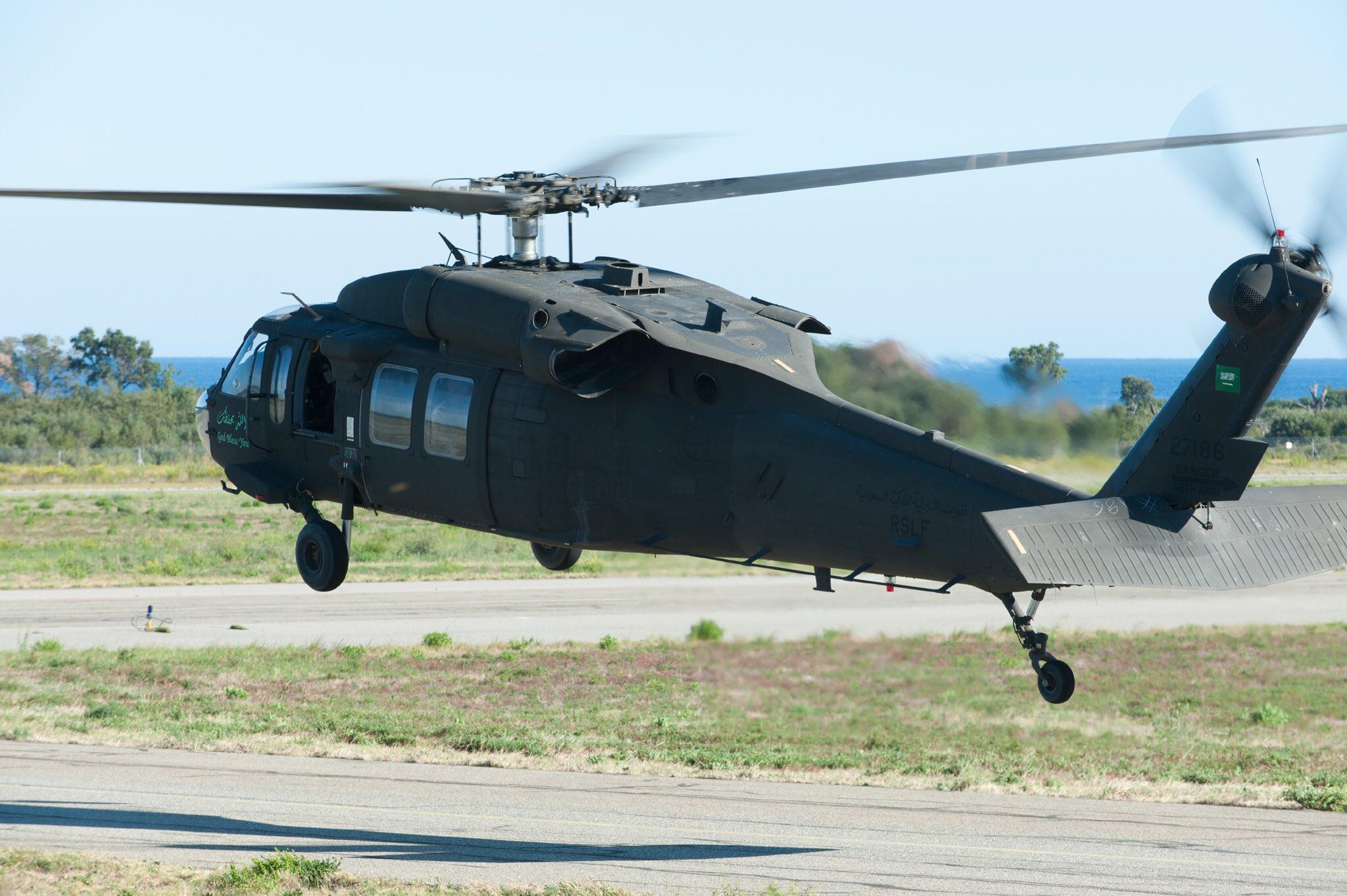 Контракт на 115 вертолетов Black Hawk для Саудовской Аравии