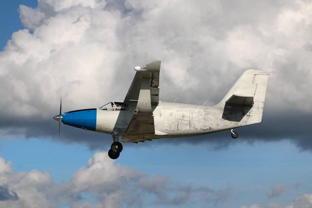 Первый полет цельнокомпозитного самолета ТВС-2ДТС 19983713_1466807300031715_1520894474769758083_o