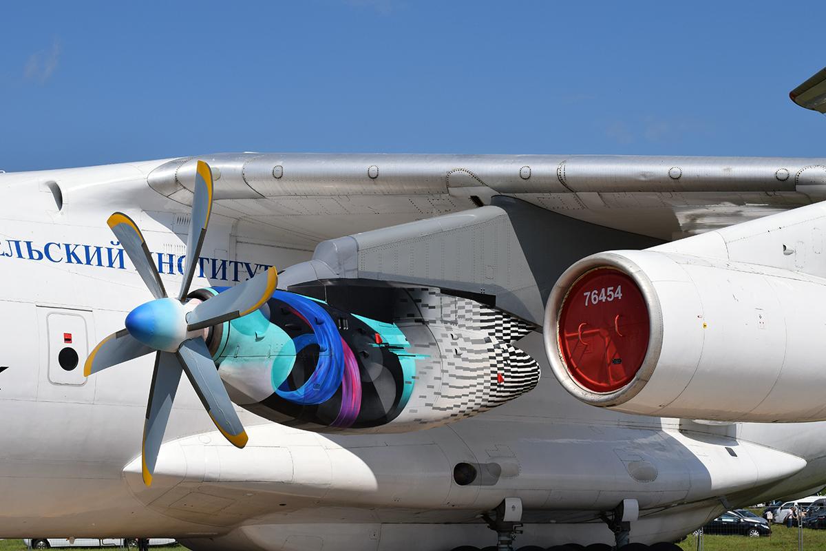 Идет подготовка к летным испытаниям турбовинтового двигателя ТВ7-117СТ