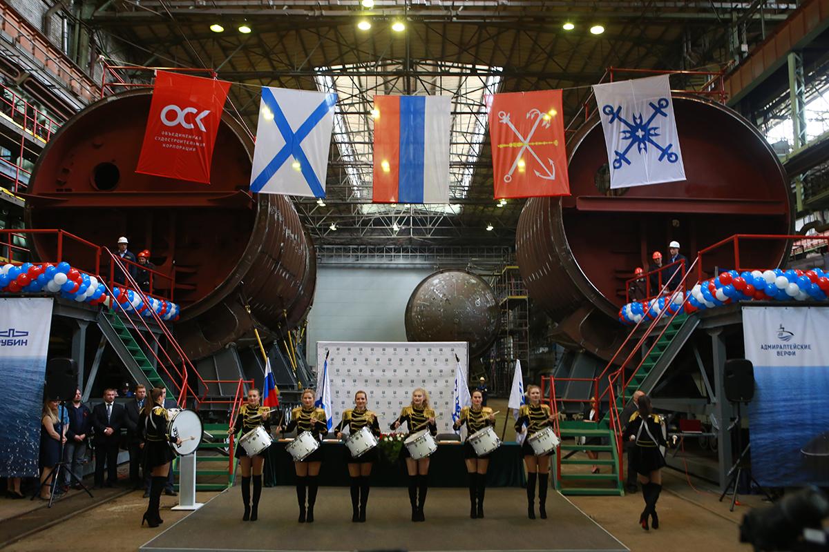 Заложены первые две подводные лодки проекта 06363 для Тихоокеанского флота