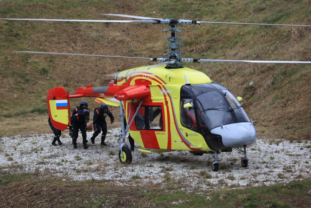 Вертолет Ка-226Т проходит испытания в Иране