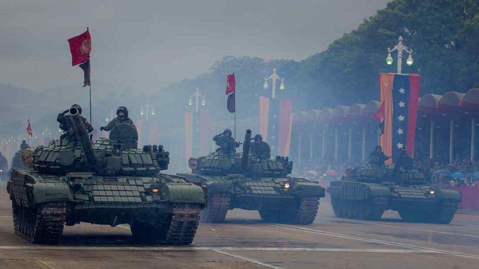 Президент Венесуэлы Николас Мадуро укрепляет власть с опорой на вооруженные силы