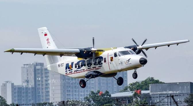 Первый полет индонезийского самолета N219