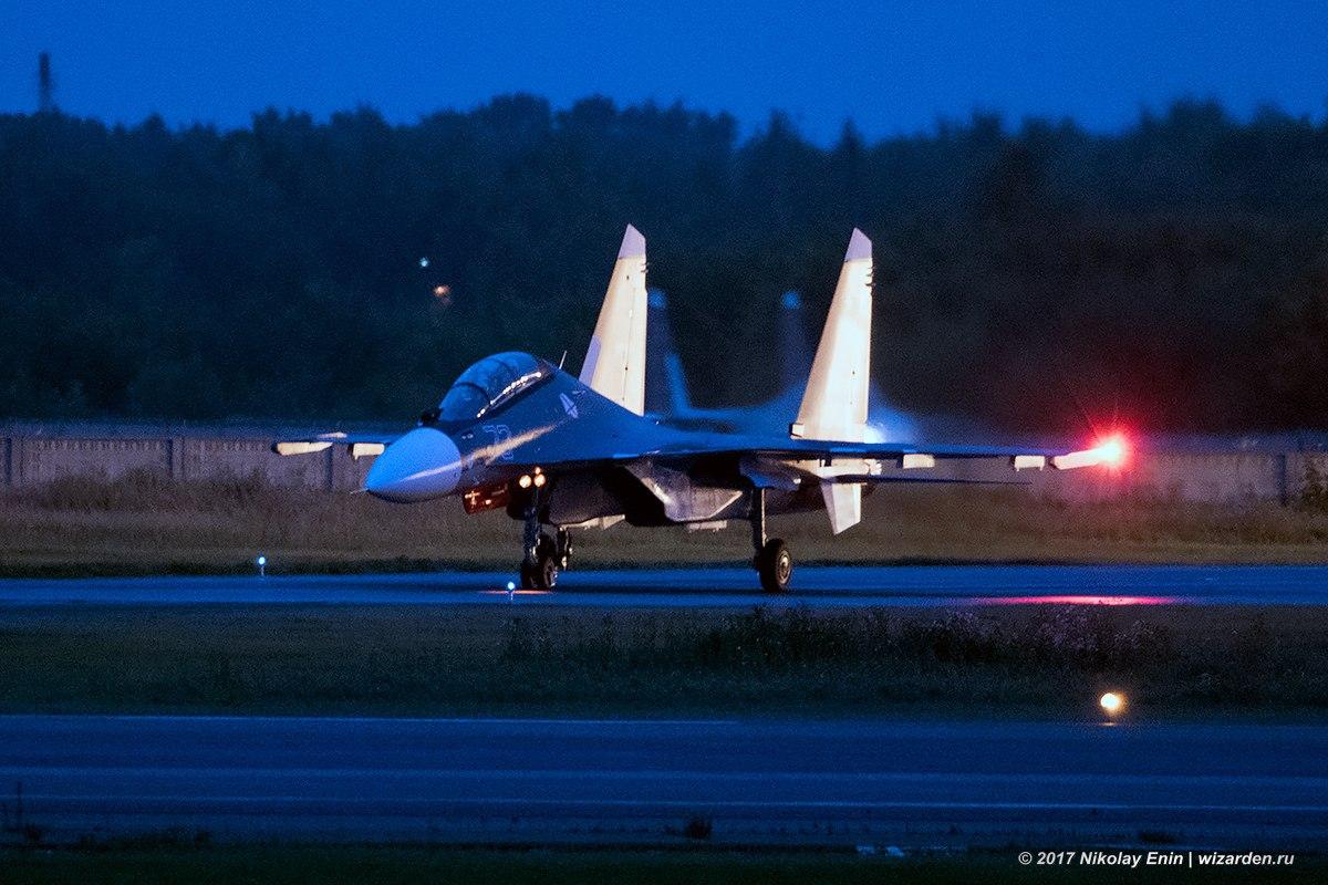 Еще три новых Су-30СМ идут на Балтийский флот