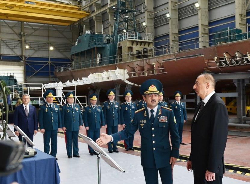 Судостроительные группы Damen и Naval Group ведут борьбу за рынок патрульных кораблей Азербайджана