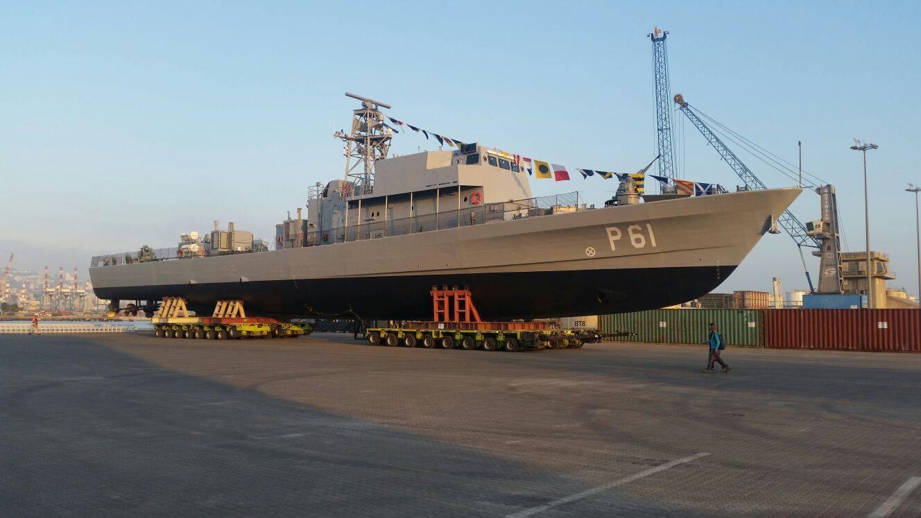 Кипр получил первый патрульный корабль израильской постройки
