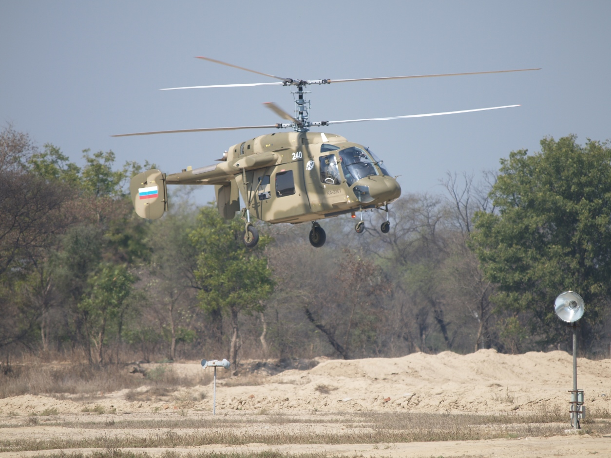 Вертолет Ка-226Т успешно завершил испытания в Иране