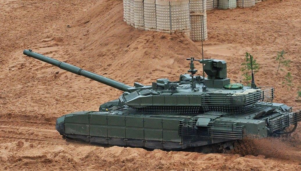 """Т-90М и БМПТ на учениях """"Запад-2017"""""""