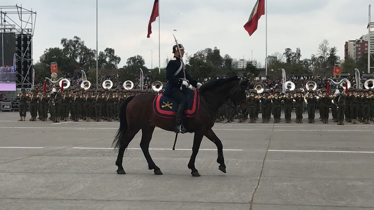 Очередной любимый всеми германофилами военный парад в Чили