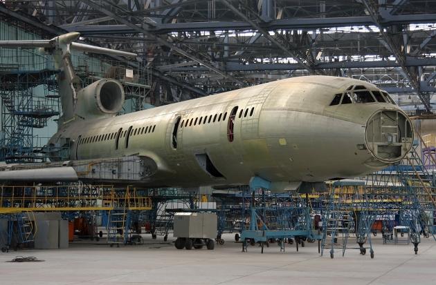 Грант на реализацию проекта по модернизации самолета Ту-154 regnum_picture_1482766176437588_big