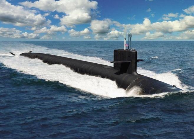 Контракт на проектирование новой американской атомной ракетной подводной лодки