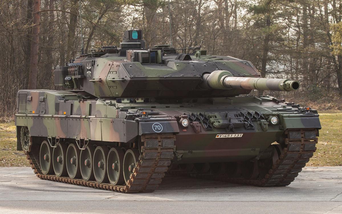 Контракт Rheinmetall на модернизацию для Бундесвера 104 танков Leopard 2 в вариант Leopard 2А7V