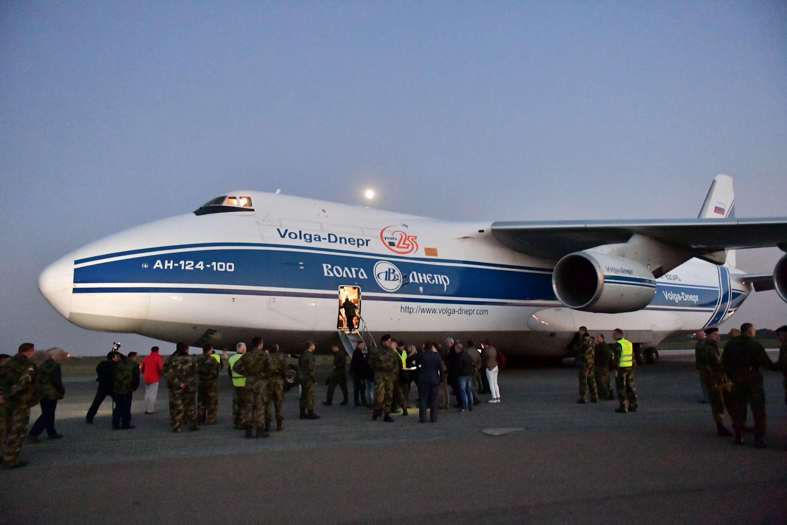 В Сербию из России поставлены первые два истребителя МиГ-29