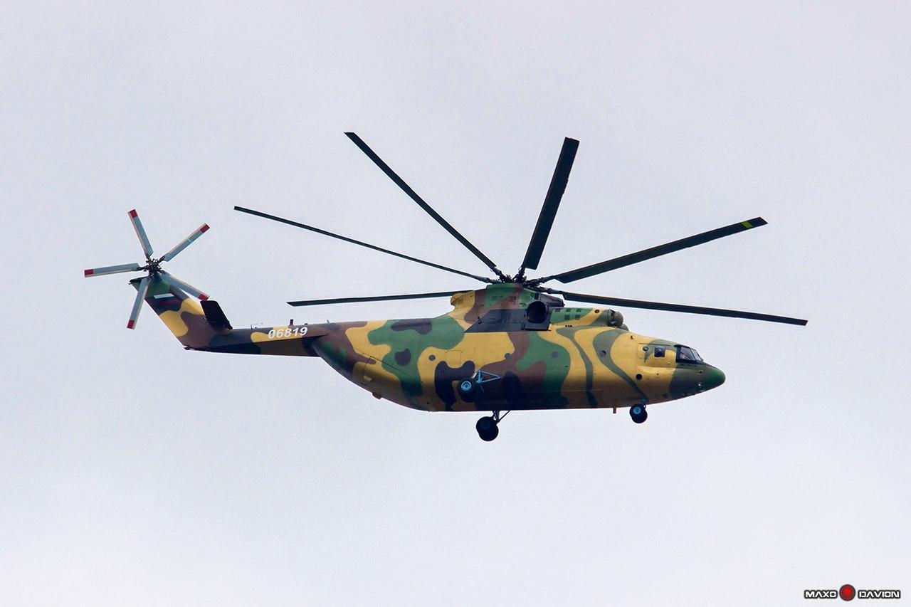 Первый вертолет Ми-26Т2 для Иордании