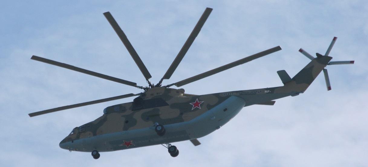 Новый вертолет Ми-26 для Восточного военного округа
