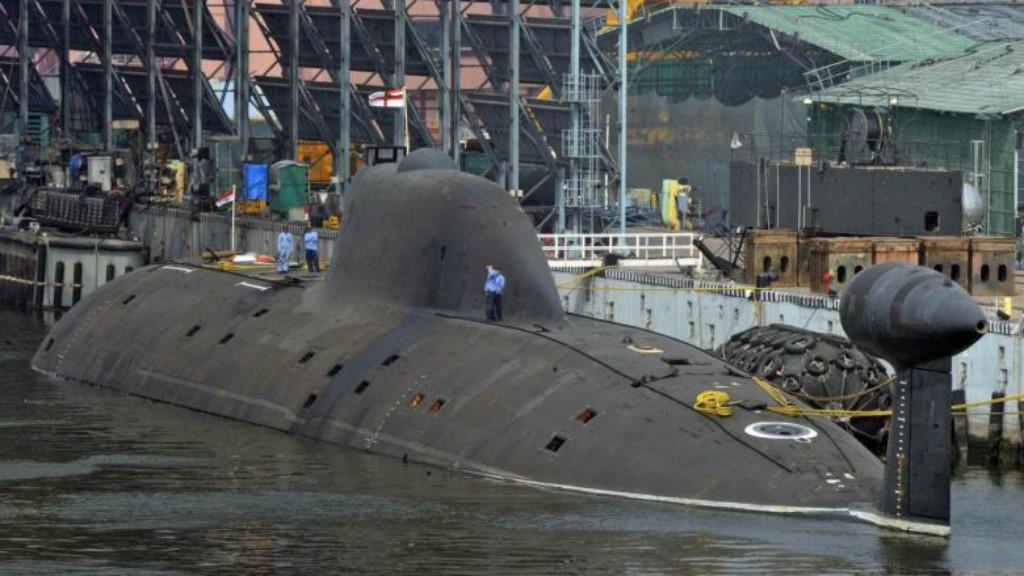 У АПЛ Chakra поврежден обтекатель ГАК, но она скоро вернется в боевой состав - главком ВМС Индии