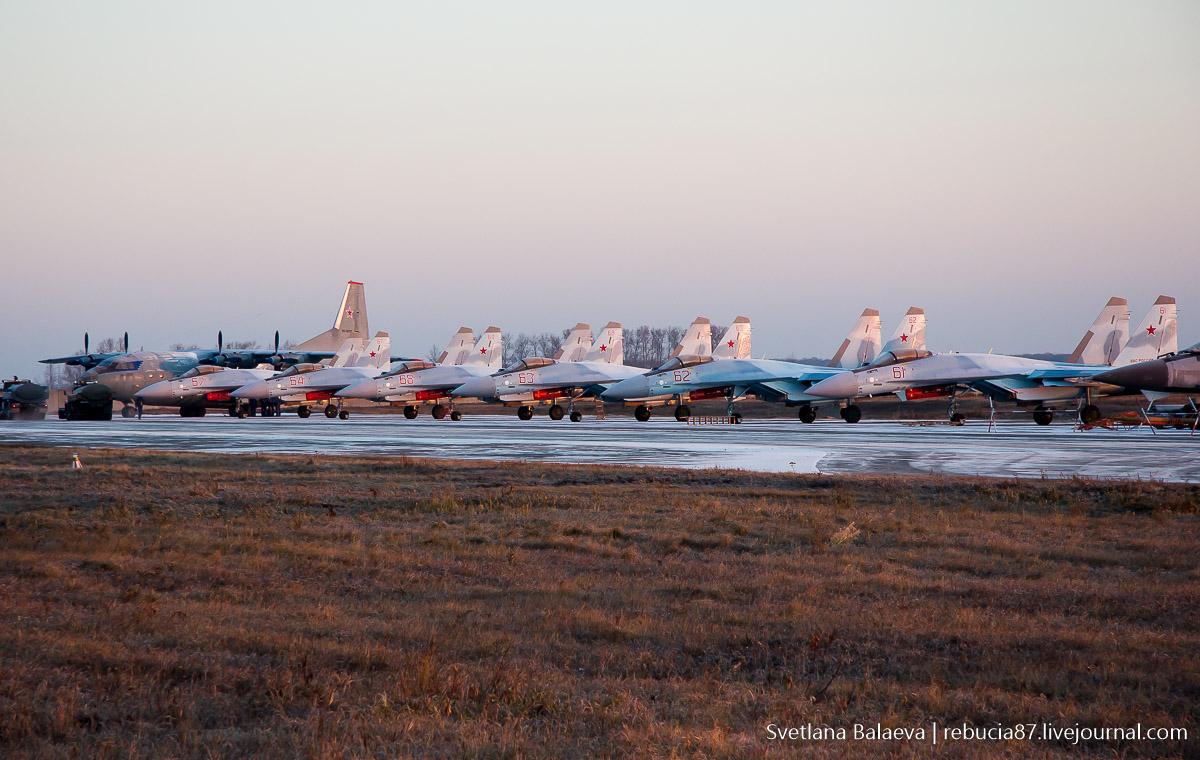 Шесть новых Су-35С идут в Карелию
