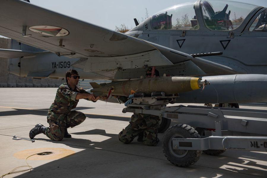 Афганистану будет поставлено еще шесть самолетов Super Tucano