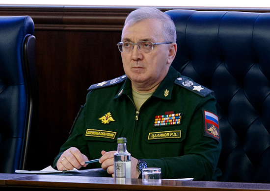 Выступление первого заместителя Министра обороны Российской Федерации Руслана Цаликова