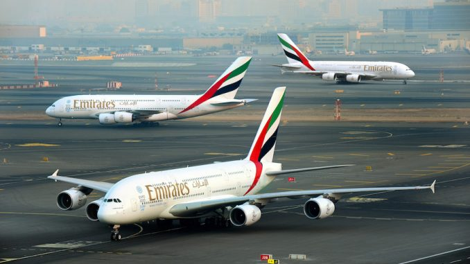 Emirates-A380-Triple-Launch-678x381