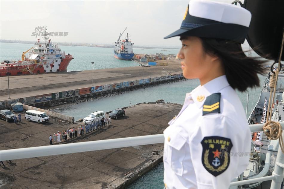 Китайская военная база в Джибути