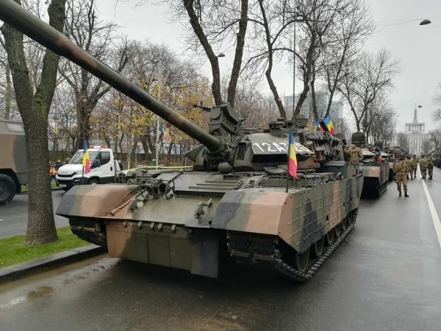 Военный парад в Румынии