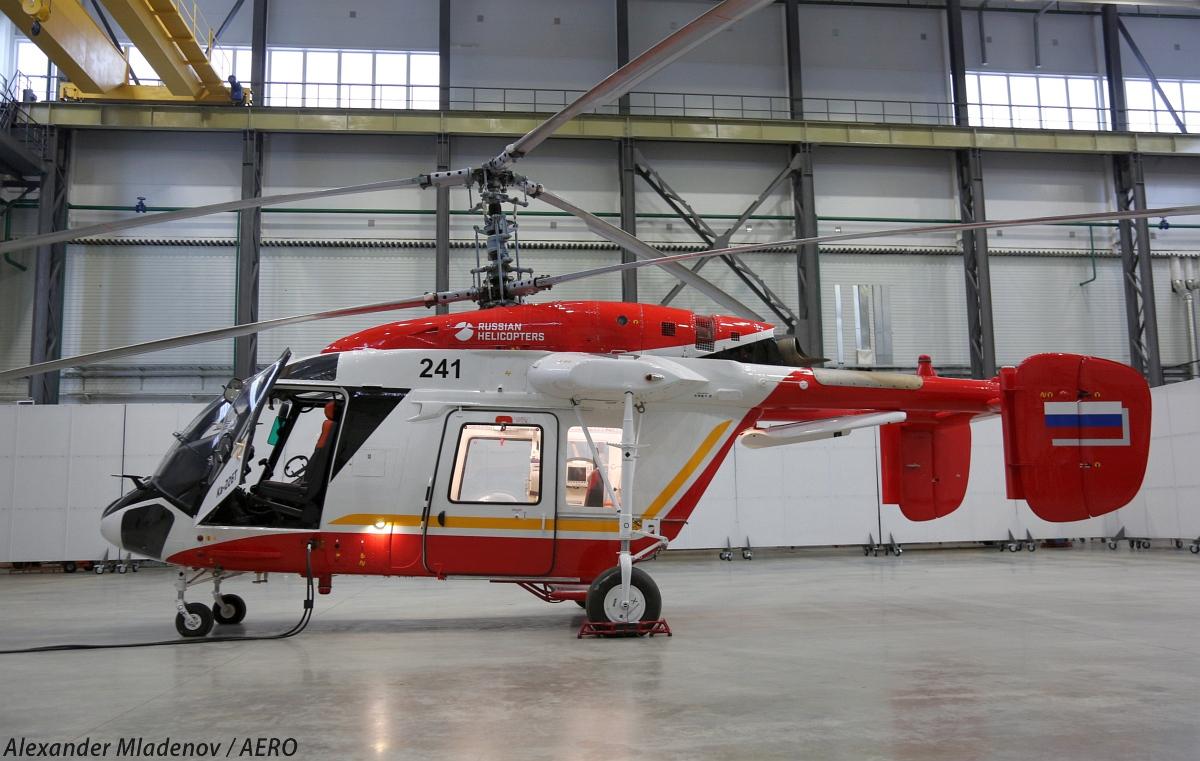 О ходе подготовки производства вертолета Ка-226Т по индийскому контракту