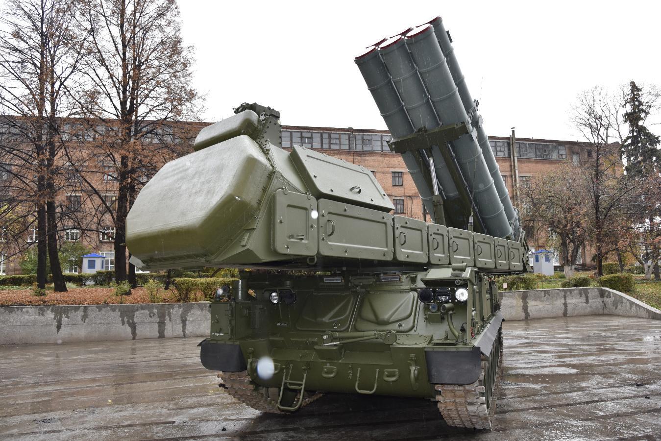 53-я зенитная ракетная бригада в Курске перевооружается на зенитные ракетные комплексы «Бук-М3»
