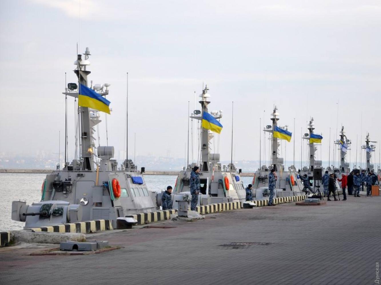 Четыре новых украинских бронекатера проекта 58155 получили названия