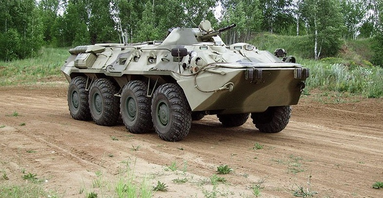Бронетранспортер БТР-82В для Росгвардии
