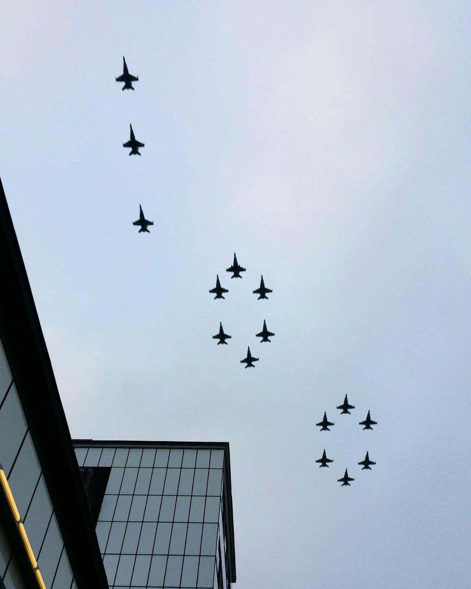Военный парад в честь 100-летия независимости Финляндии