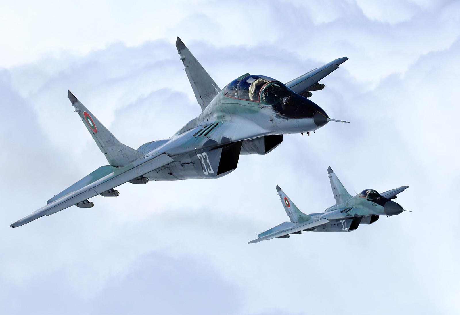 Болгария объявила тендер на восстановление летной годности всего парка истребителей МиГ-29