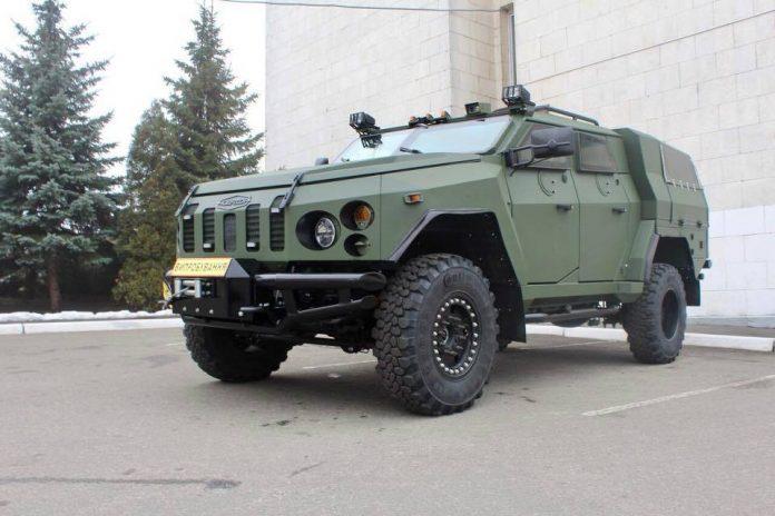 """Украинский бронеавтомобиль """"Варта-Новатор"""""""
