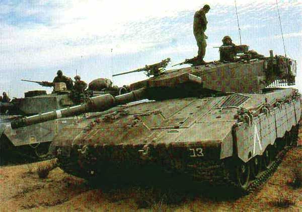 Танки М1 Abrams в Израиле