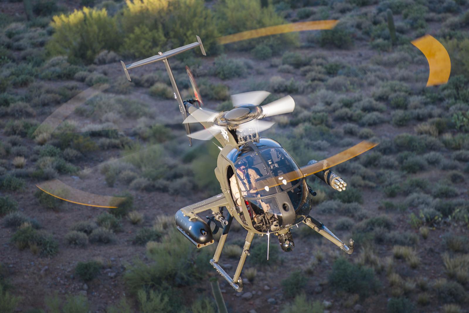 Ливан получит шесть легких боевых вертолетов MD 530G
