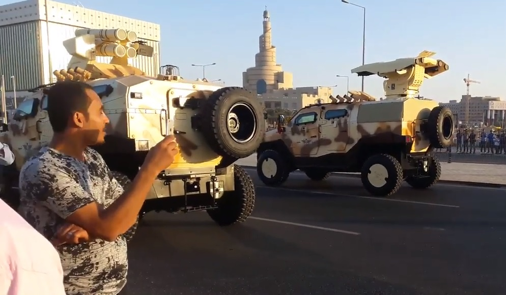 Катар продолжает скупать турецкую бронетехнику Катара, Makina, Nurol, Yalçın, модулем, Aselsan, машины, четырехзарядным, парада, военного, Sanayi, репетиции, Ejder, намеченного, 15122017, компании, бронированные, машина, оснащенная, вооруженных
