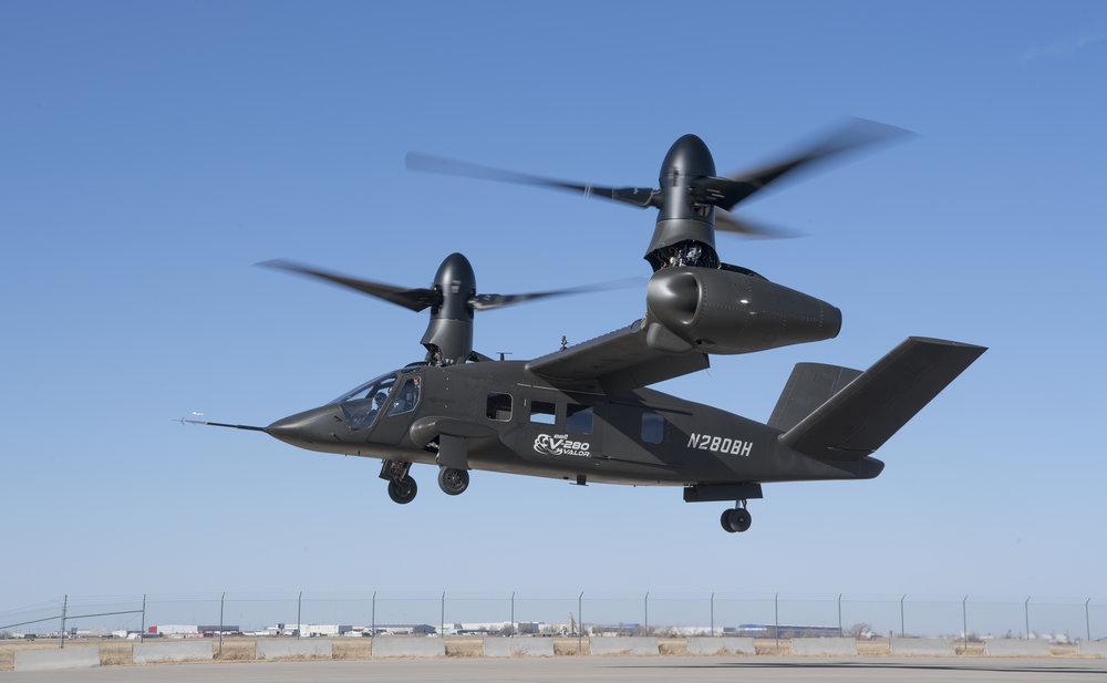 Первый полет нового американского конвертоплана Bell V-280 Valor
