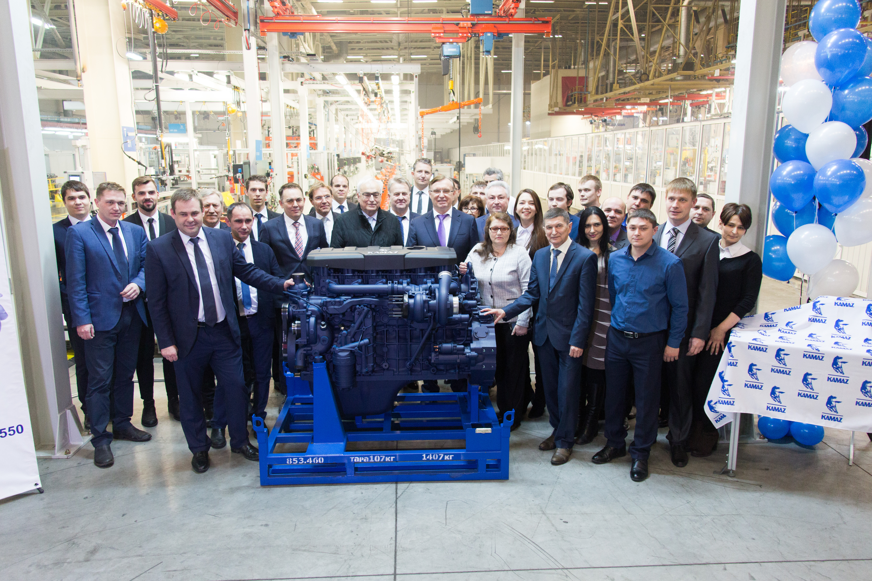 КАМАЗ завершил подготовку серийного производства семейства дизельных двигателей Р6