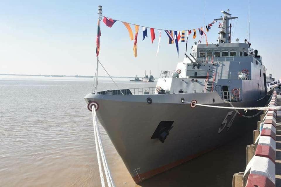 В строй ВМС Мьянмы введен патрульный корабль национальной постройки Inlay