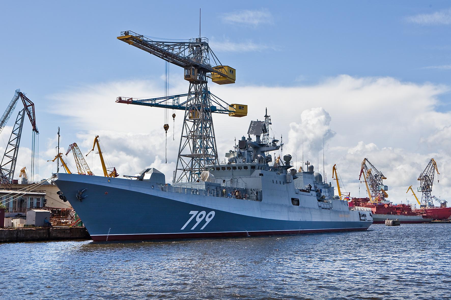 """Подписан приемный акт на фрегат """"Адмирал Макаров"""""""