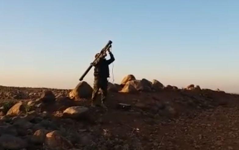 Боевики в Сирии сбили сирийский учебно-боевой самолет L-39