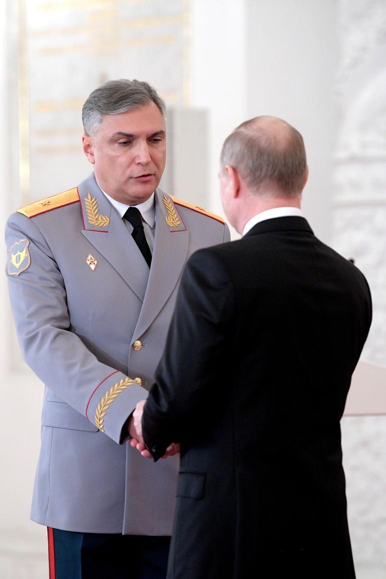 Генерал-майор Александр Матовников удостоен звания Героя Российской Федерации