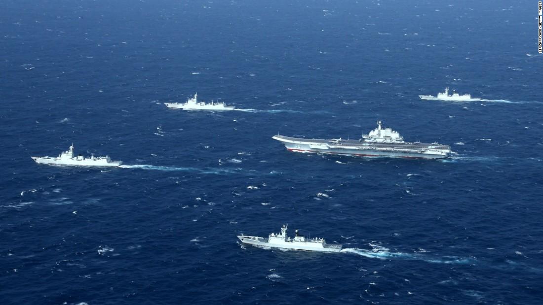 Сколько надводных кораблей введено в состав ВМС НОАК в 2017 году