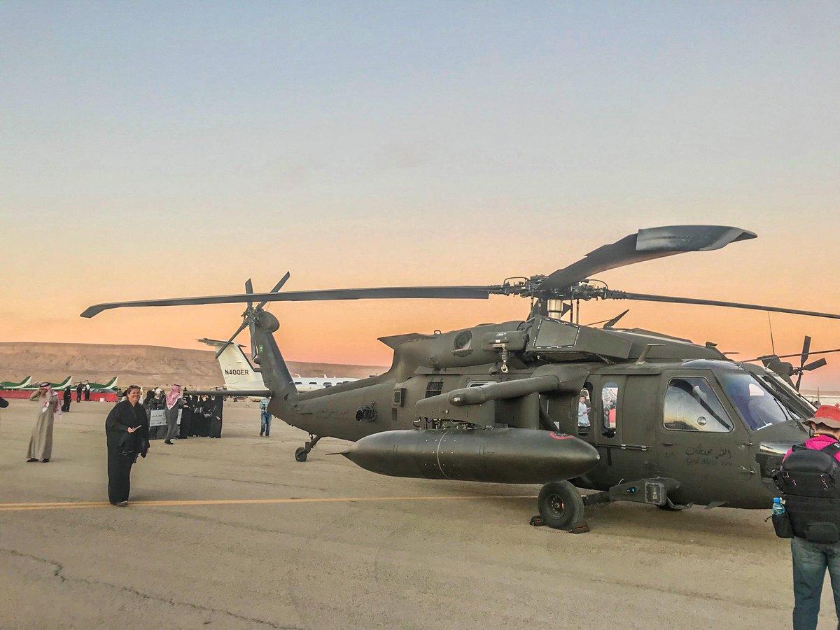 Саудовская Аравия заказала еще 17 вертолетов Black Hawk