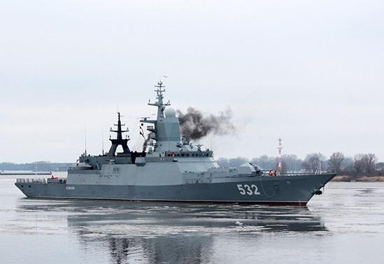Корветы Балтийского флота вернулись из дальнего похода