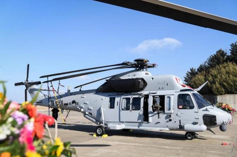 Морская пехота Южной Кореи получила первые два вертолета MUH-1 национального производства