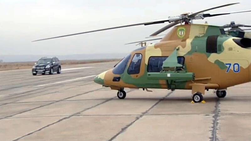 Президент Туркмении знакомится с новыми вертолетами Бердымухамедов, президент, государства, Туркмении, вертолетов, Президент, Helicopters, глава, Турмении, ТуркменииГурбангулы, 17012018, репортажа, телевидения, штурвал, лично, AW109, вооруженных, Leonardo, военных, января