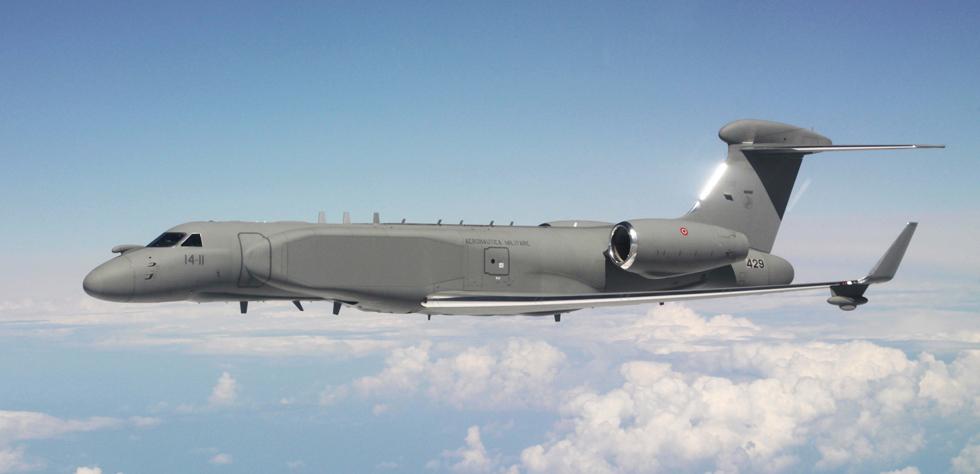 Италия получила из Израиля оба самолета дальнего радиолокационного дозора СAEW