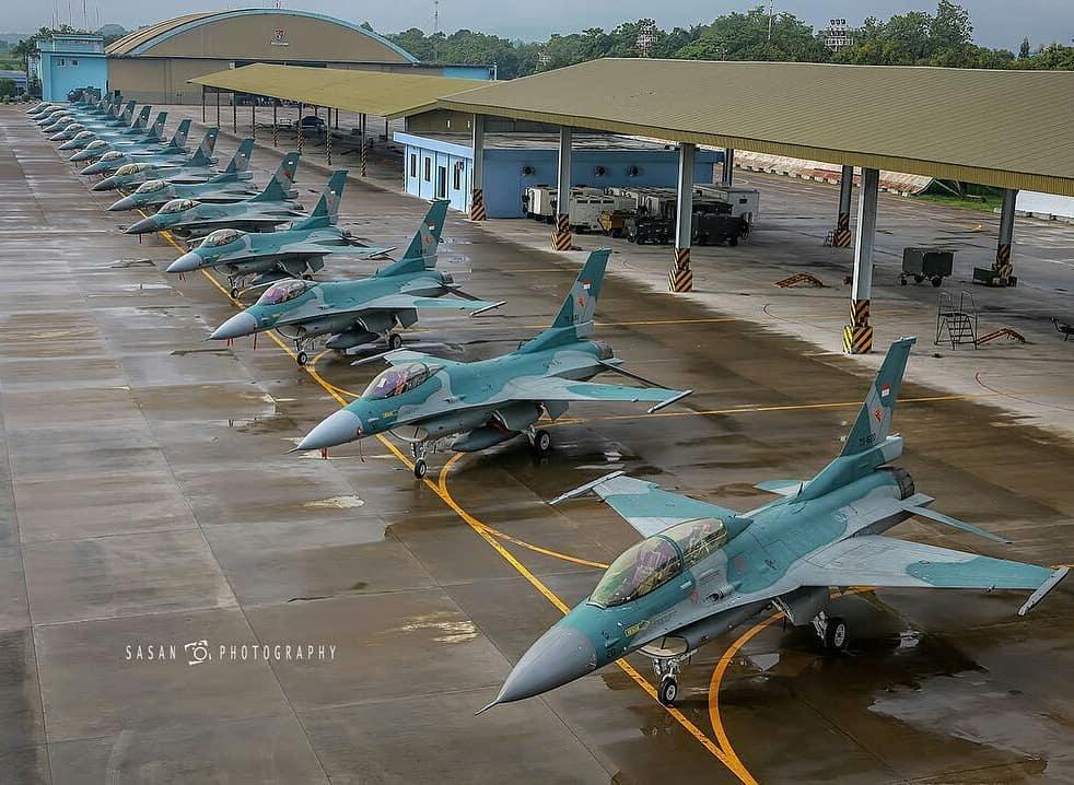 Индонезия начала переговоры с США о возможности закупки еще 48 истребителей F-16